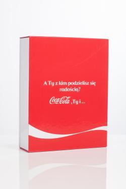Pudełko Coca-Cola