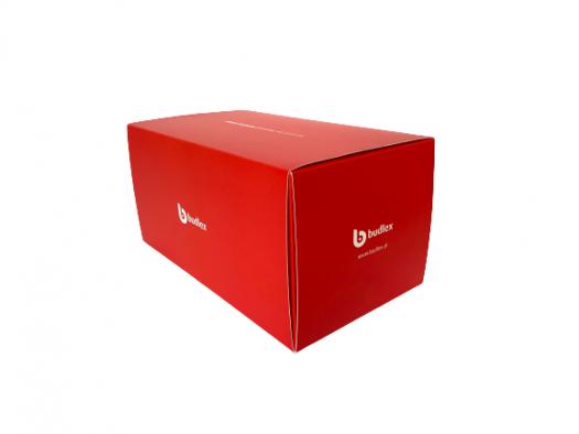 Pudełko z kartonu z obwolutą